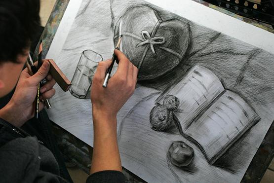第一次去艺考画室集训