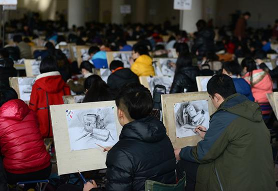 术高考圈的美术联考与校考的知识