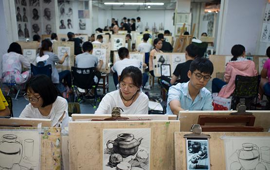 一个好的高考美术培训艺考画室