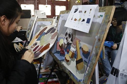 高二学画画,美术高考还有希望吗?