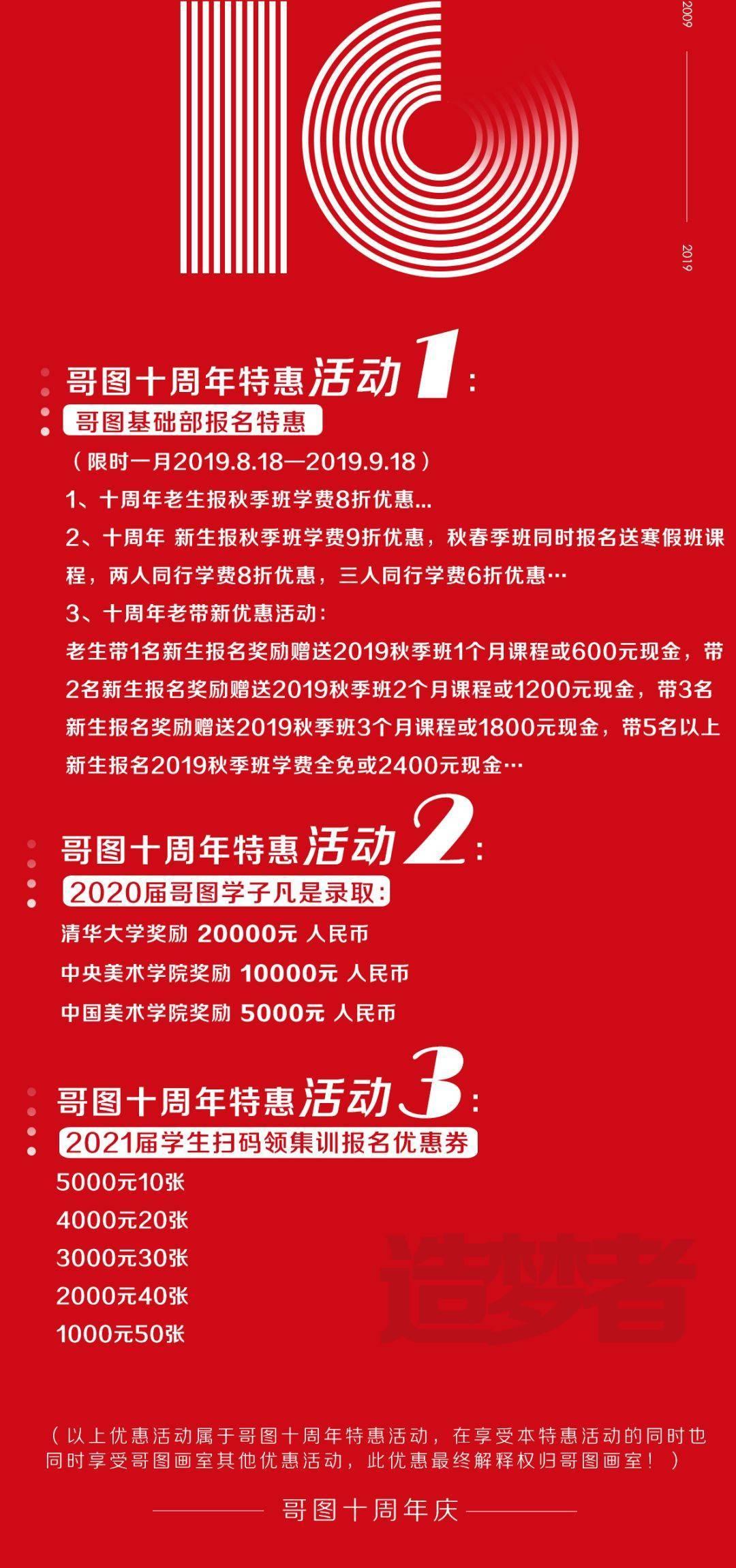 武汉哥图艺考画室秋季招生简章