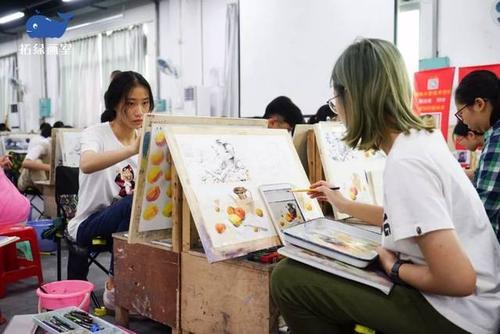 找美术集训高考画室,完成美术高考这条路要经历多少?
