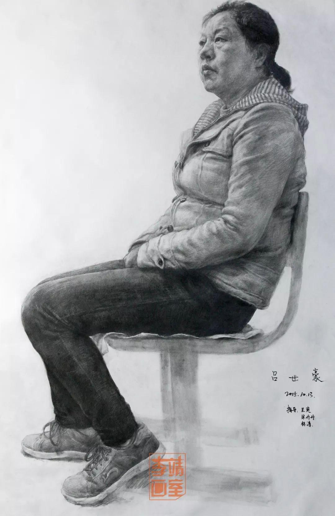 【李美·研艺坊】重写实,重基础,研习工作室开班了! ,北京画室,北京美术培训   13