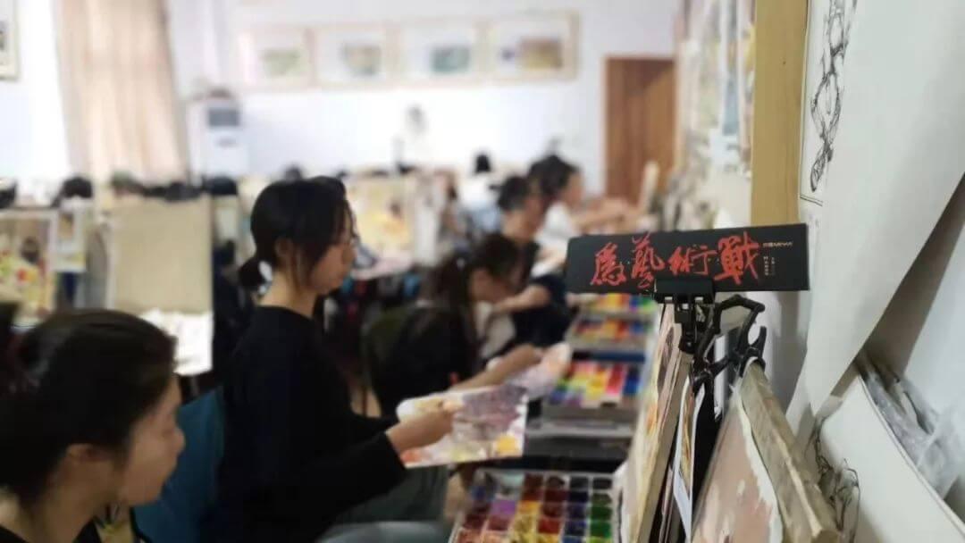 校尉画室:寒假班招生简章 | 预报名2020年集训豪礼重重!,北京画室,北京美术培训     07