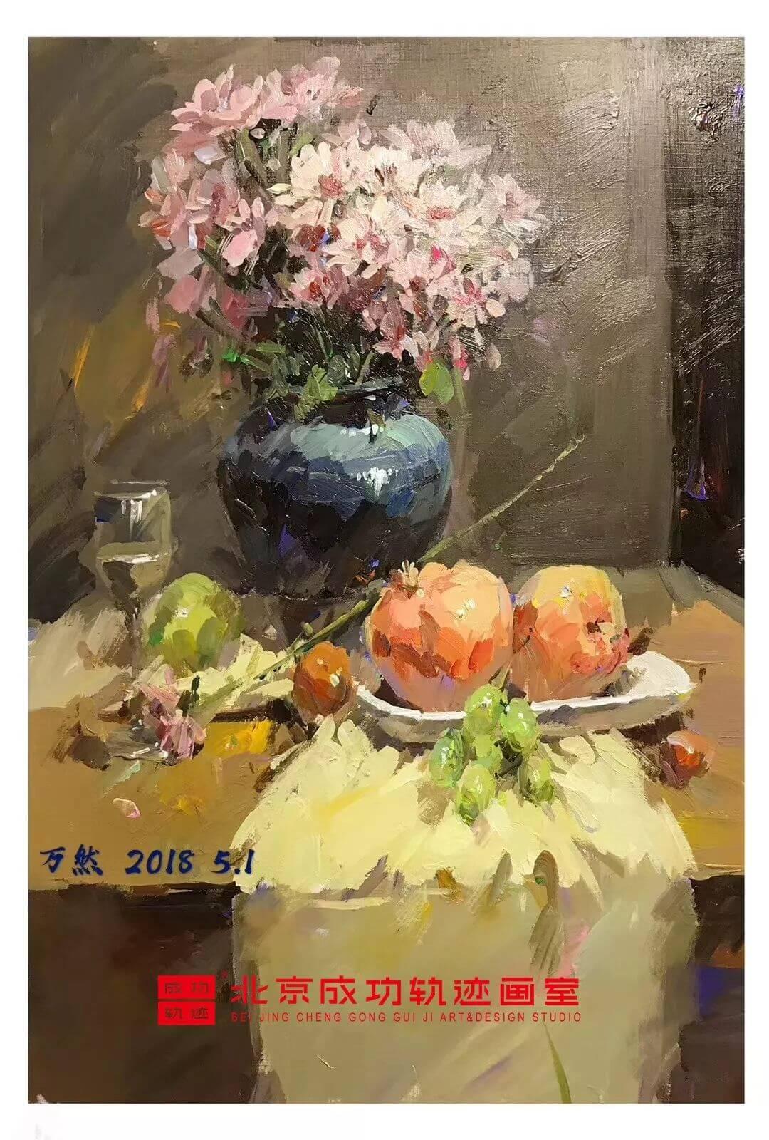成功轨迹画室直播课堂,北京画室,北京美术培训,美术在线课堂  08