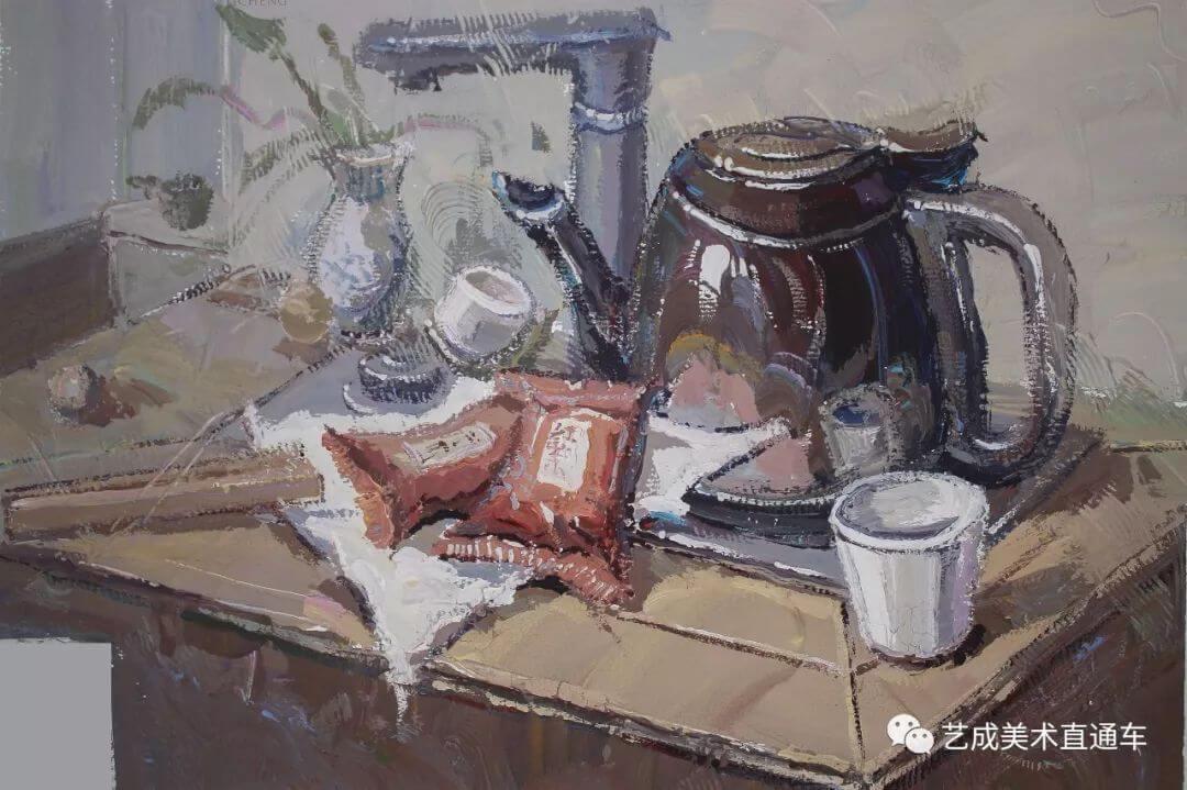 2020届艺成美术二模色彩高分卷,广州画室,广州美术培训    13