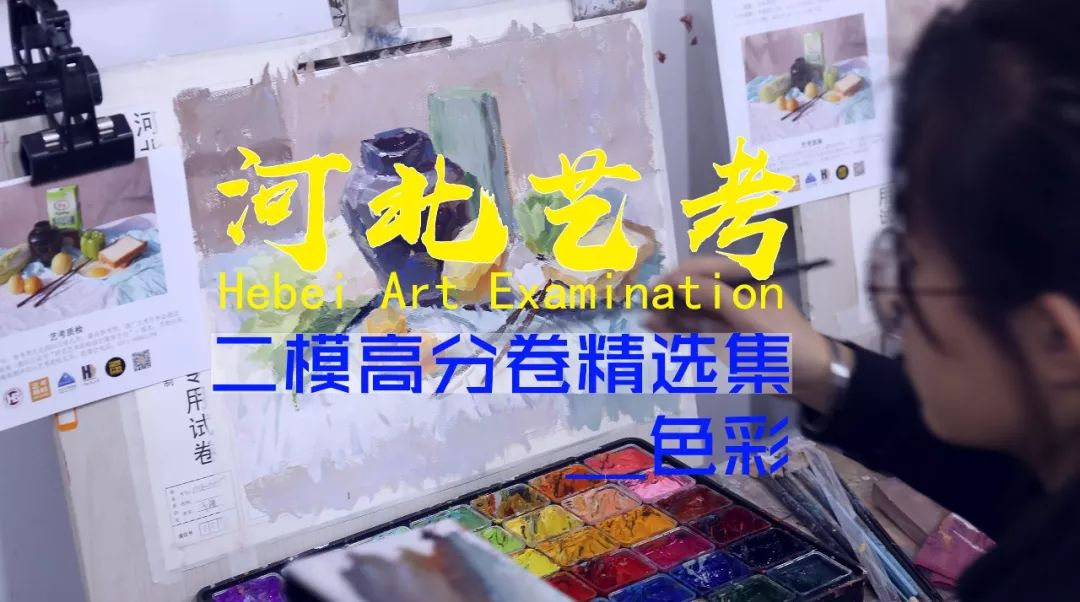 河北艺考二模高分卷精选集——色彩高分卷,美术统考    01