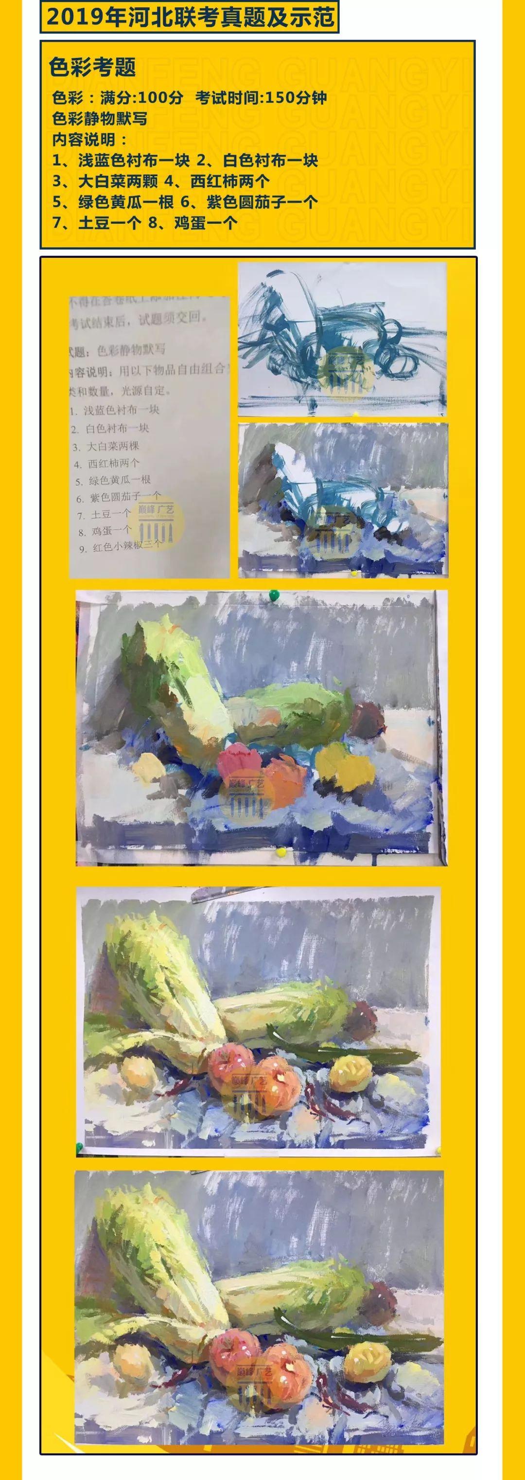 【北京巅峰广艺】联考时间、考题大纲等重要信息为你一网打尽!,美术联考,美术联考考题   06