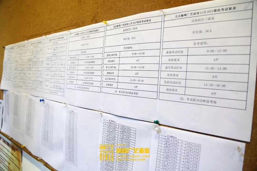 巅峰广艺大型联考模拟考试,美术联考,北京画室   05