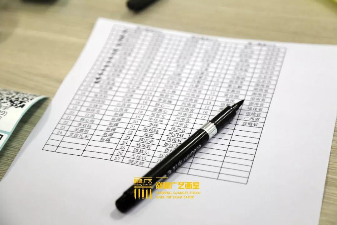 巅峰广艺大型联考模拟考试,美术联考,北京画室   14