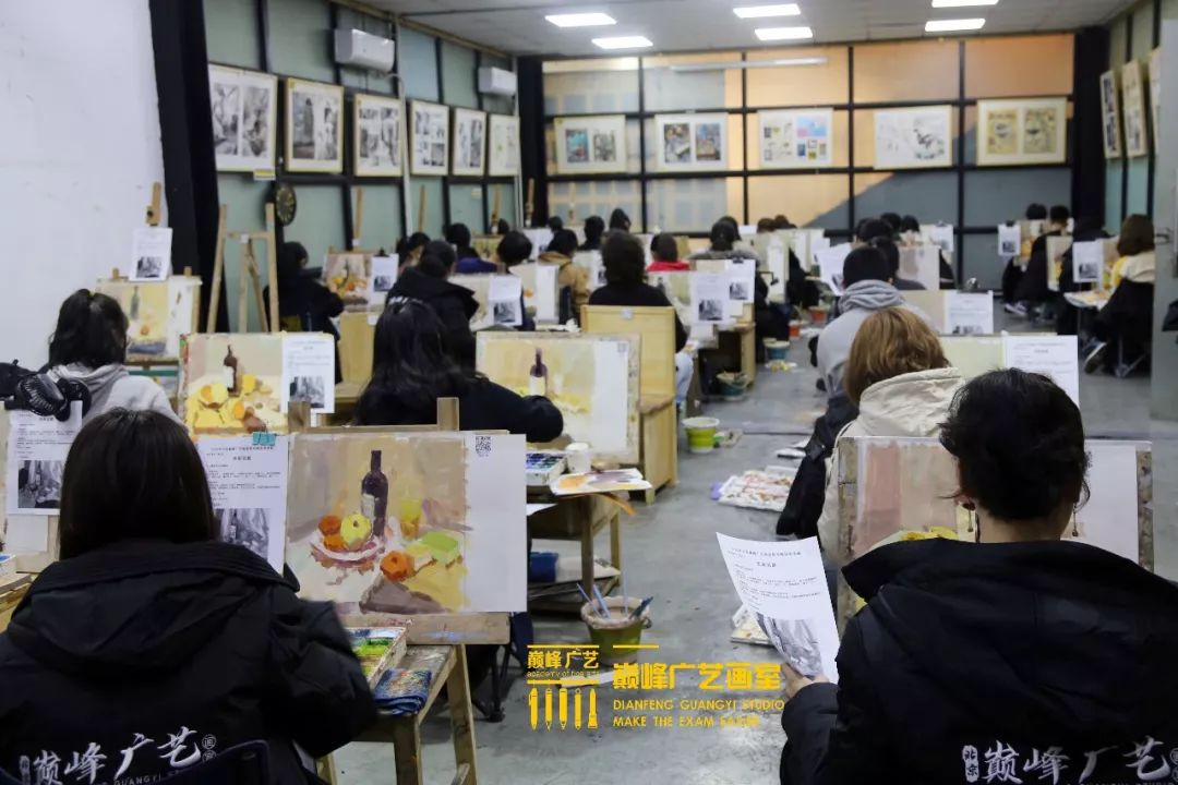 巅峰广艺大型联考模拟考试,美术联考,北京画室   32