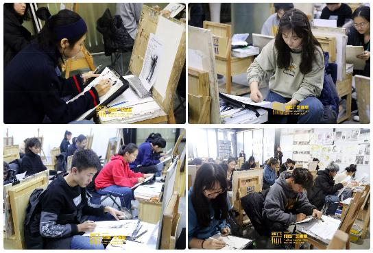 巅峰广艺大型联考模拟考试,美术联考,北京画室   34
