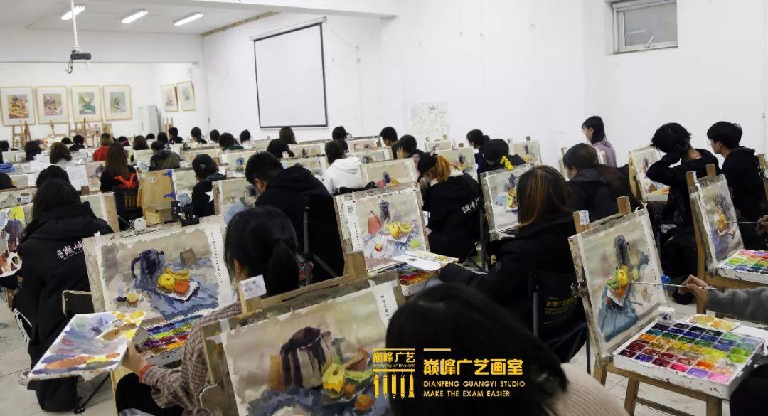 巅峰广艺大型联考模拟考试,美术联考,北京画室   35