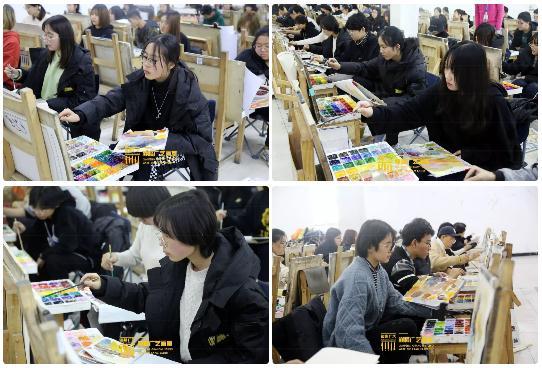 巅峰广艺大型联考模拟考试,美术联考,北京画室   36