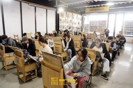 巅峰广艺大型联考模拟考试,美术联考,北京画室   44