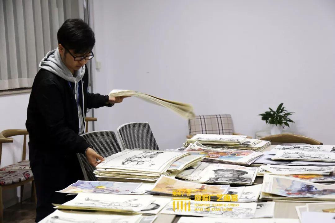 巅峰广艺大型联考模拟考试,美术联考,北京画室   47