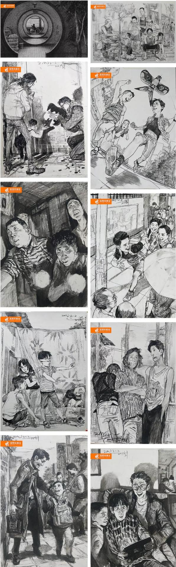【思想者】寒假班,北京画室,北京美术培训,北京寒假班   08