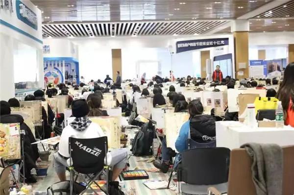 万人模拟联考——北京校尉画室,北京画室,北京美术培训,北京美术联考    15