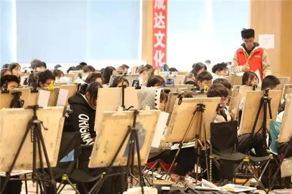 万人模拟联考——北京校尉画室,北京画室,北京美术培训,北京美术联考    18