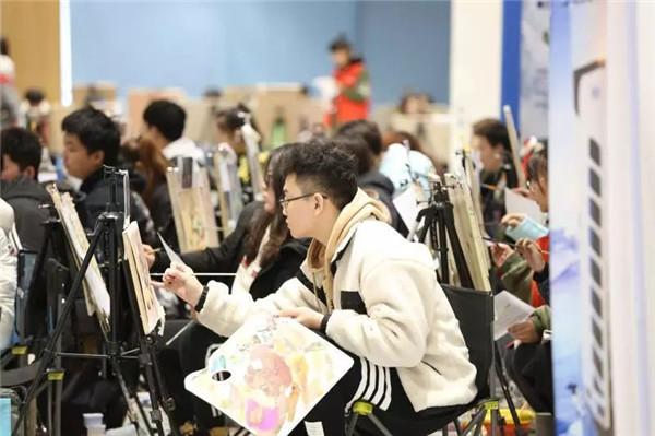 万人模拟联考——北京校尉画室,北京画室,北京美术培训,北京美术联考    20