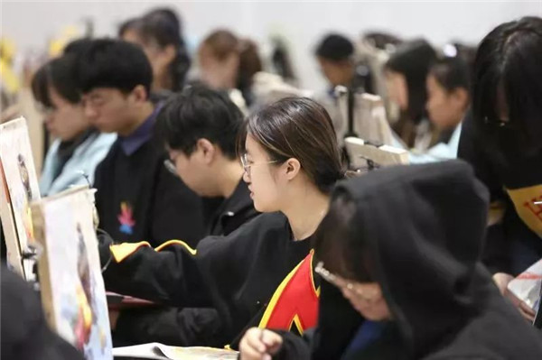 万人模拟联考——北京校尉画室,北京画室,北京美术培训,北京美术联考    21