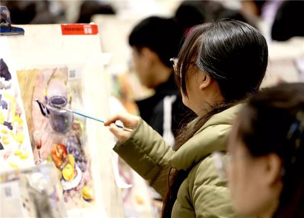 万人模拟联考——北京校尉画室,北京画室,北京美术培训,北京美术联考    27