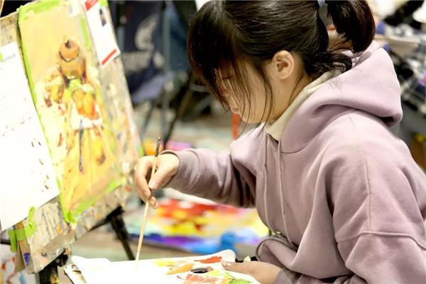 万人模拟联考——北京校尉画室,北京画室,北京美术培训,北京美术联考    28