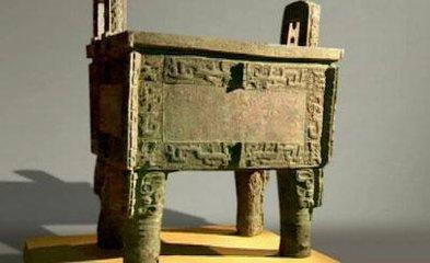 中国古代雕塑作品后母戊鼎