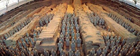 中国古代雕塑作品兵马俑