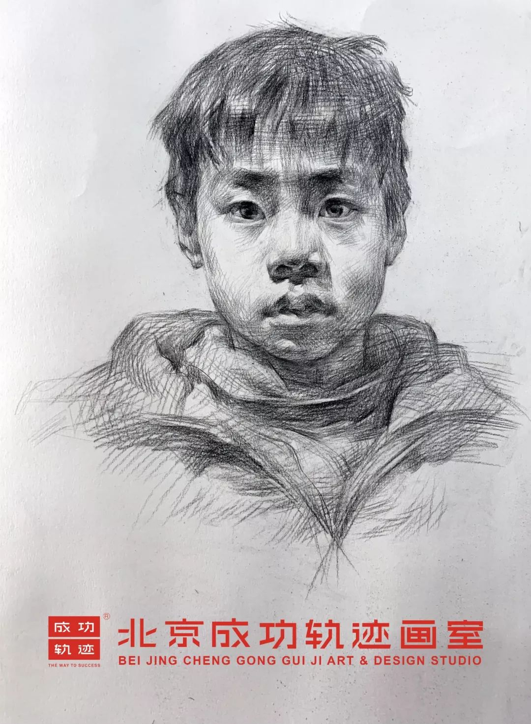 【成功轨迹直播课堂】带你解密联考素描头像,北京画室,北京美术培训    12
