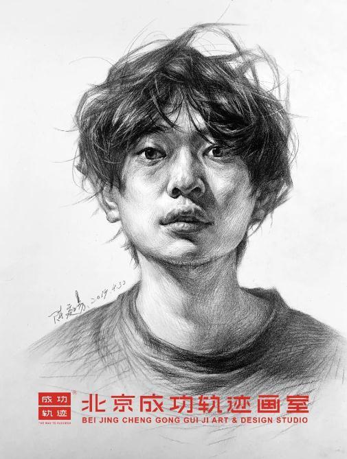 【成功轨迹直播课堂】带你解密联考素描头像,北京画室,北京美术培训    13
