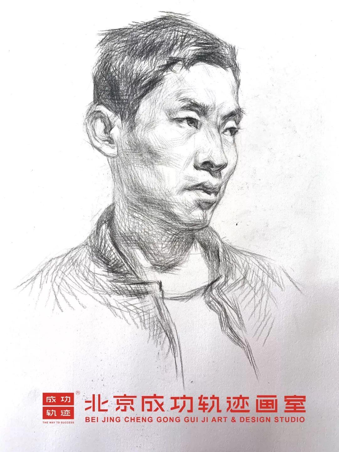 【成功轨迹直播课堂】带你解密联考素描头像,北京画室,北京美术培训    14