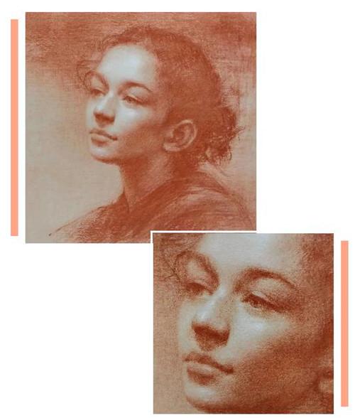 画素描头像,北京画室,北京美术培训,北京素描培训     02