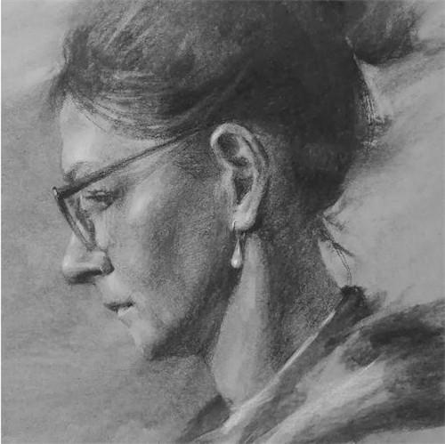 画素描头像,北京画室,北京美术培训,北京素描培训     12
