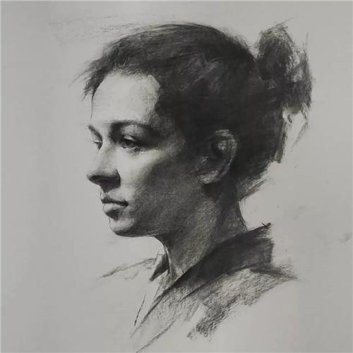画素描头像,北京画室,北京美术培训,北京素描培训     17