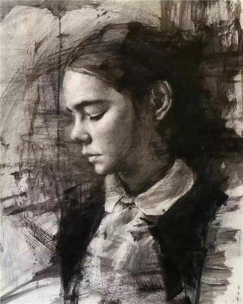 画素描头像,北京画室,北京美术培训,北京素描培训     19