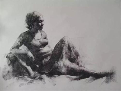 画素描头像,北京画室,北京美术培训,北京素描培训     26