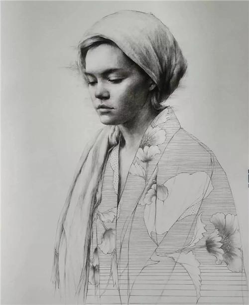 画素描头像,北京画室,北京美术培训,北京素描培训     23
