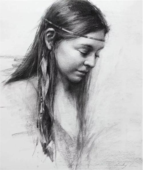 画素描头像,北京画室,北京美术培训,北京素描培训     22