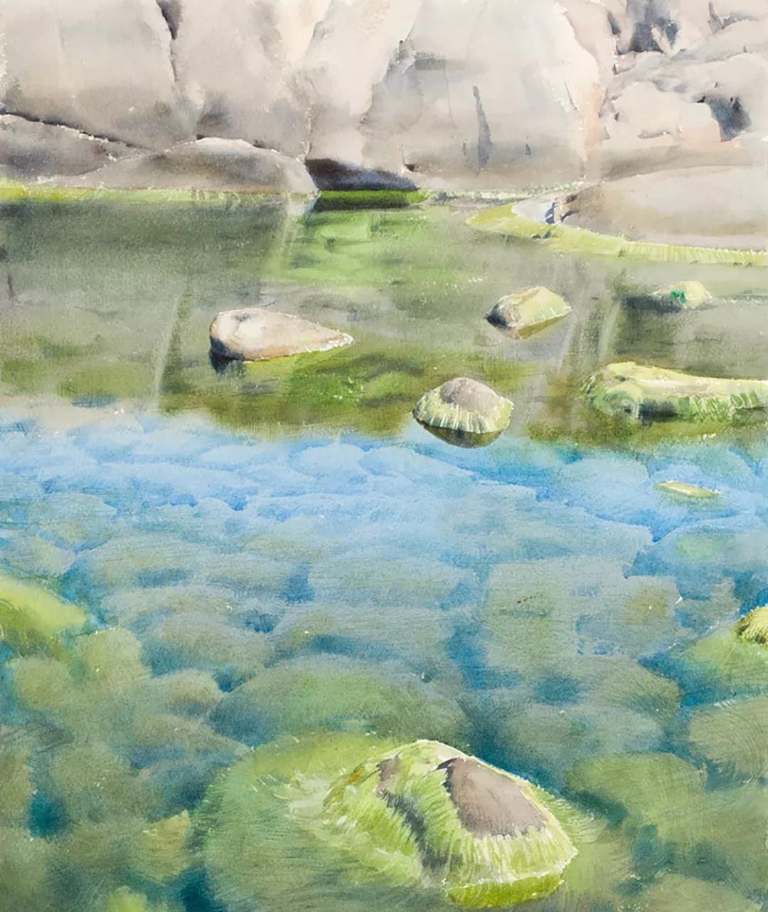 水彩绘画作品