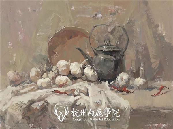 2019广西联考色彩真题示范,杭州白鹿画室,广西美术联考     07