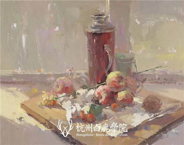 2019广西联考色彩真题示范,杭州白鹿画室,广西美术联考     10