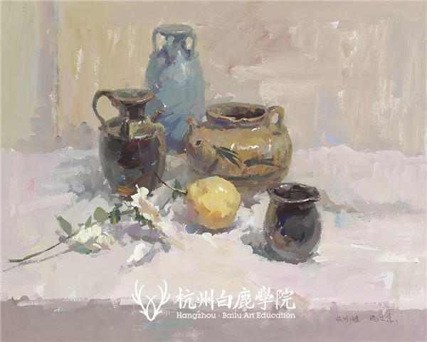 2019广西联考色彩真题示范,杭州白鹿画室,广西美术联考     11