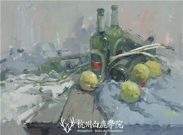 2019广西联考色彩真题示范,杭州白鹿画室,广西美术联考     12