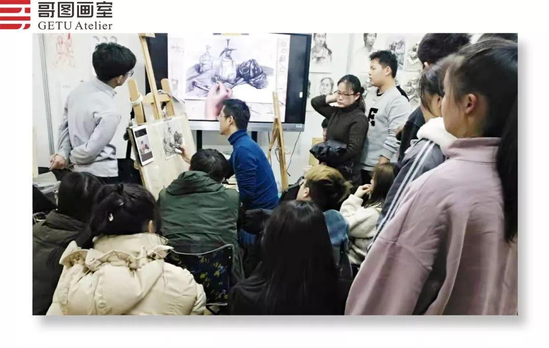 武汉哥图画室学子全力备战统考,武汉画室,美术统考     03