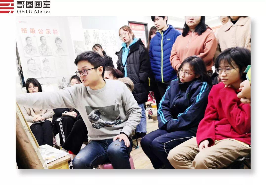 武汉哥图画室学子全力备战统考,武汉画室,美术统考     05