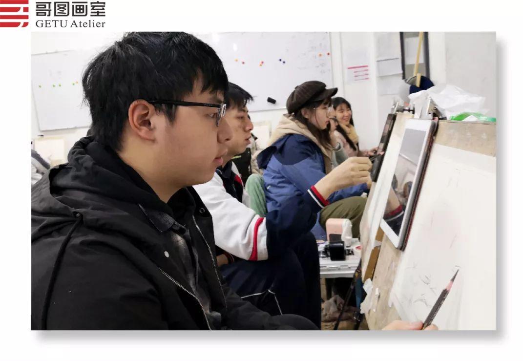武汉哥图画室学子全力备战统考,武汉画室,美术统考     07