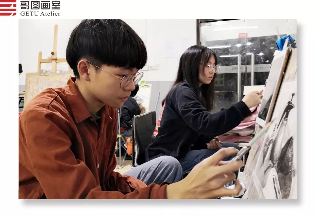 武汉哥图画室学子全力备战统考,武汉画室,美术统考     08