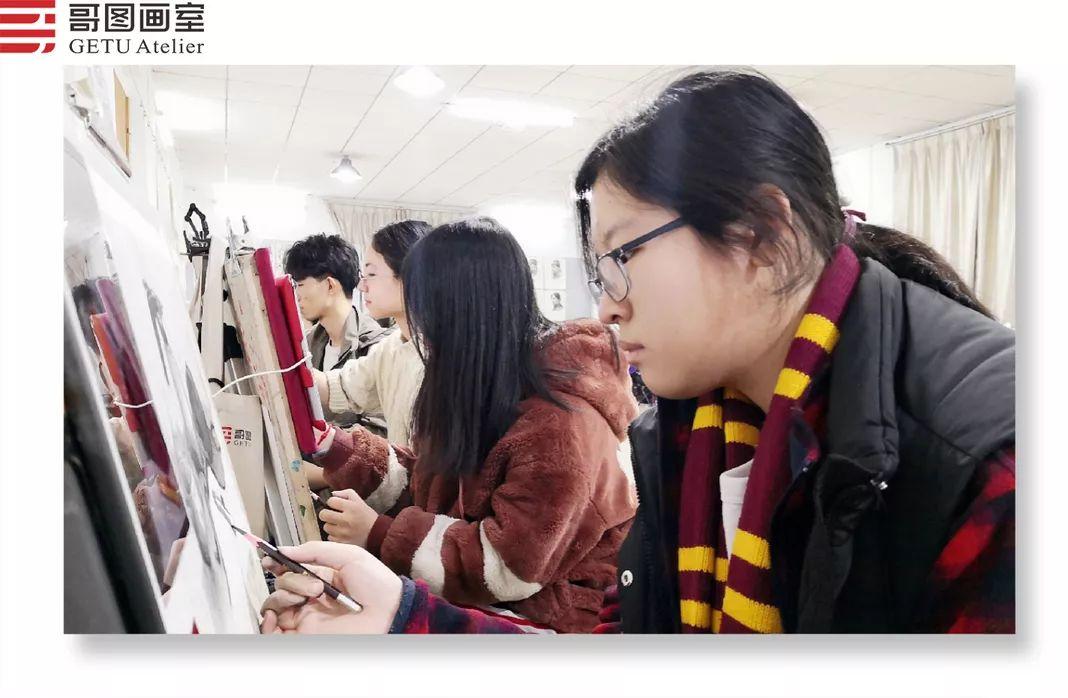武汉哥图画室学子全力备战统考,武汉画室,美术统考     09