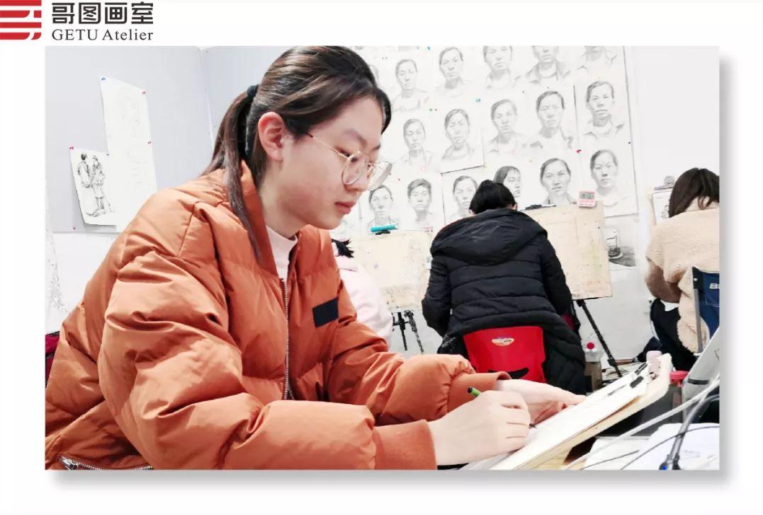 武汉哥图画室学子全力备战统考,武汉画室,美术统考     10